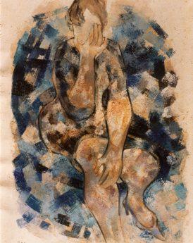 1967 - Composition bleue