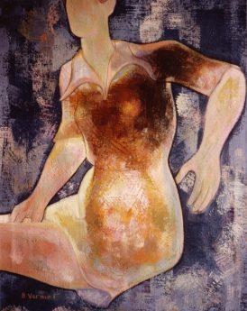 1968 - Emmanuelle sur fond bleu