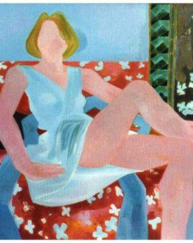 1986 - Sur le divan orange